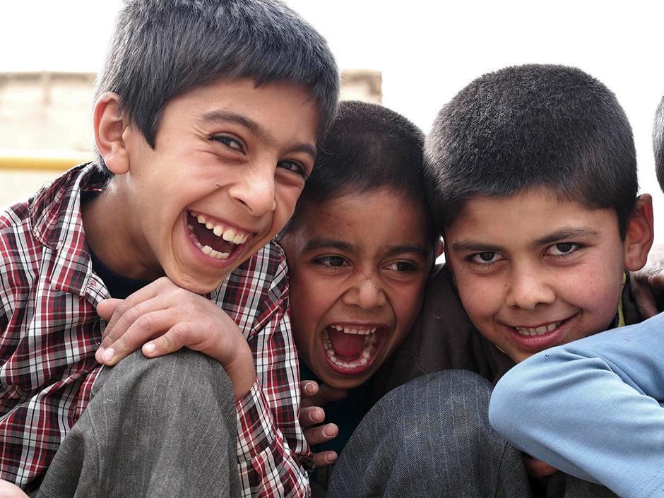 Dzieciaki z Iranu - zdjęcia z podróży Łukasza Supergana
