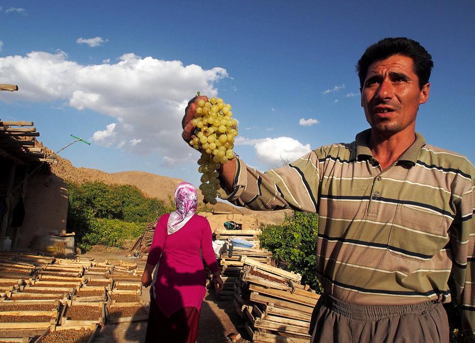 Irański sprzedawca z gór Zagros - zdjęcia z wyprawy do Iranu