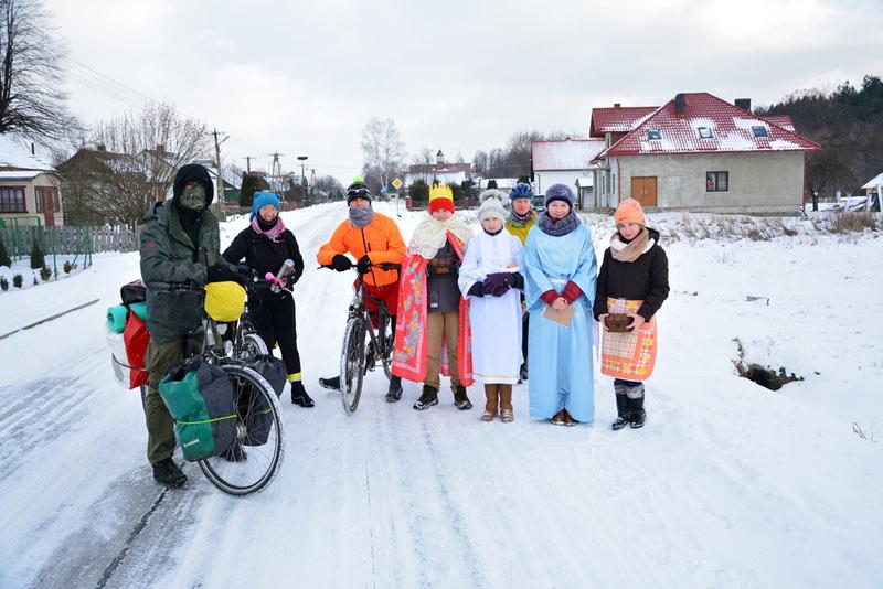 Zima na Ukrainie (Fot. Piotr Wojtaszek)