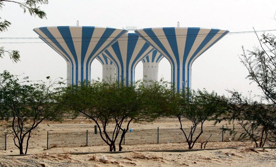 Wodne wieże w Kuwejcie