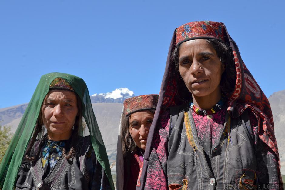 Kobiety z Korytarza Wachańskiego - zdjęcia