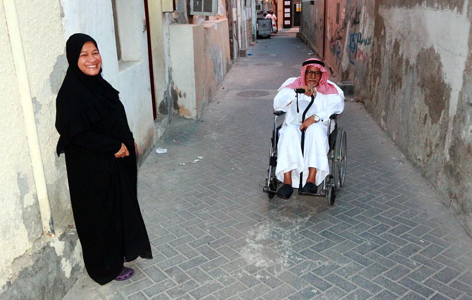 Mieszkańcy stolicy Bahrajnu - foto