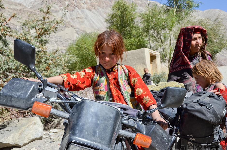 Motocyklem przez Afganistan - zdjęcia z podróży