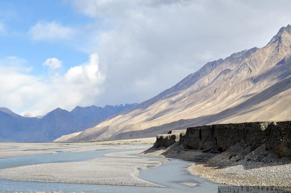 Afganistan - krajobraz Wachanu
