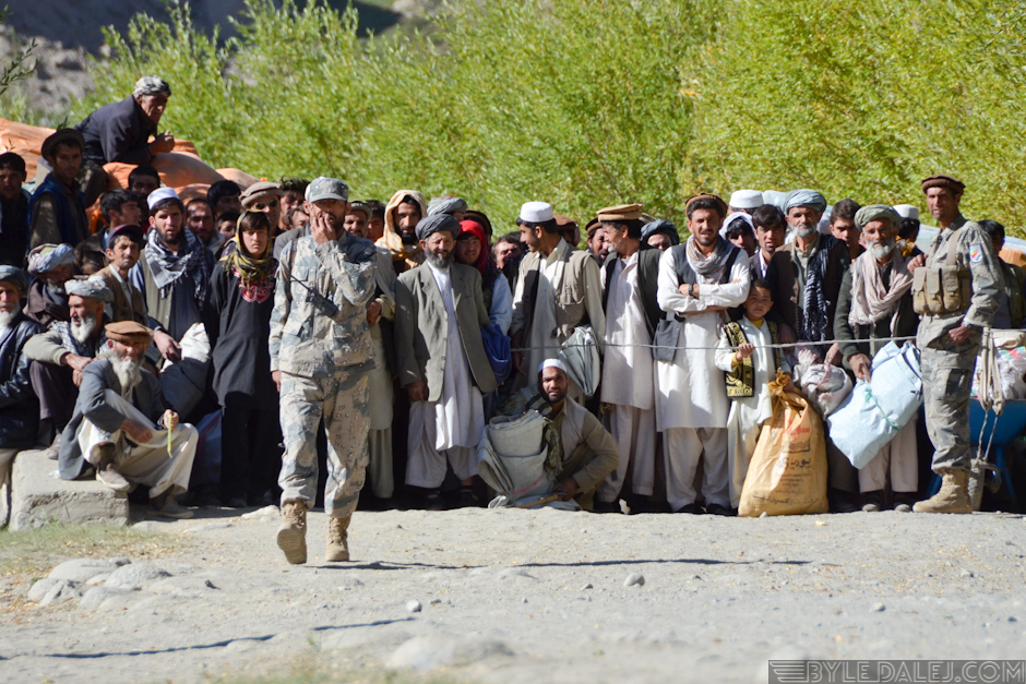 Bazar na granicy Afganistanu i Tadżykistanu