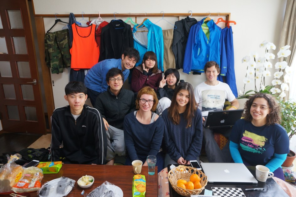 Ekipa Tokio2Tohok (Fot. Kasia Boni)