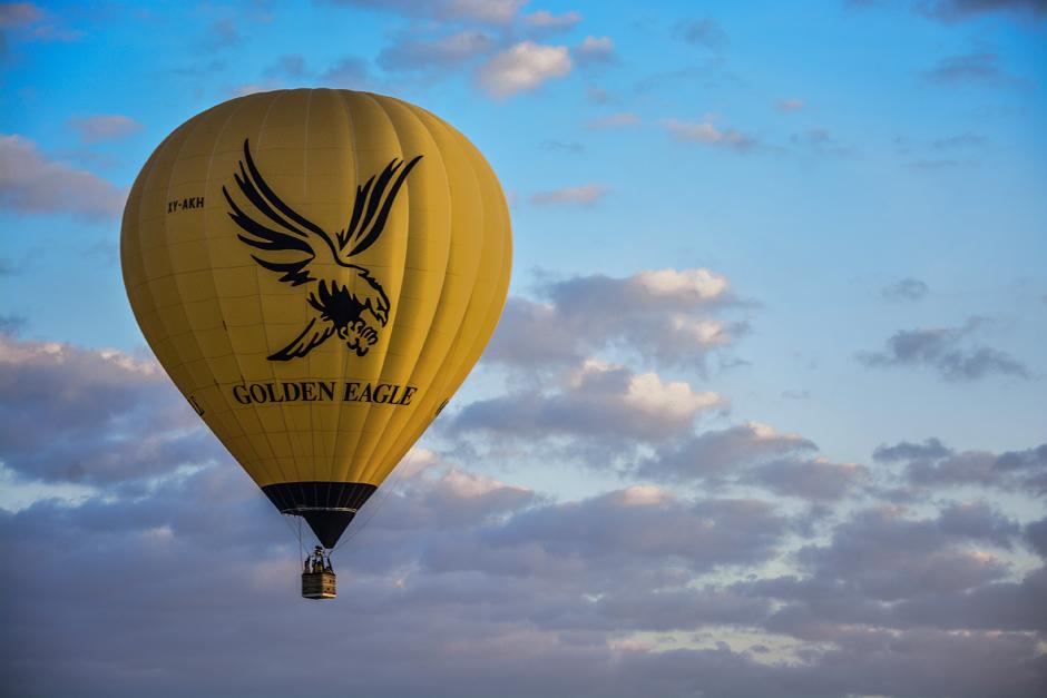 Podróż balonem - Birma