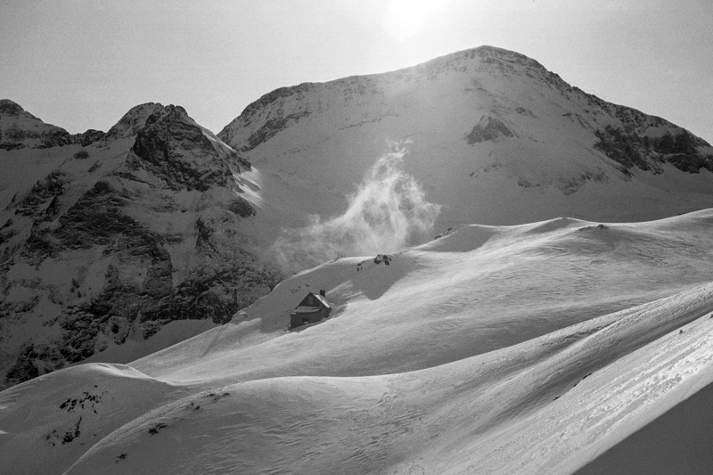 Francuskie Pireneje w zimie - zdjęcia Katzryany Nizinkiewicz