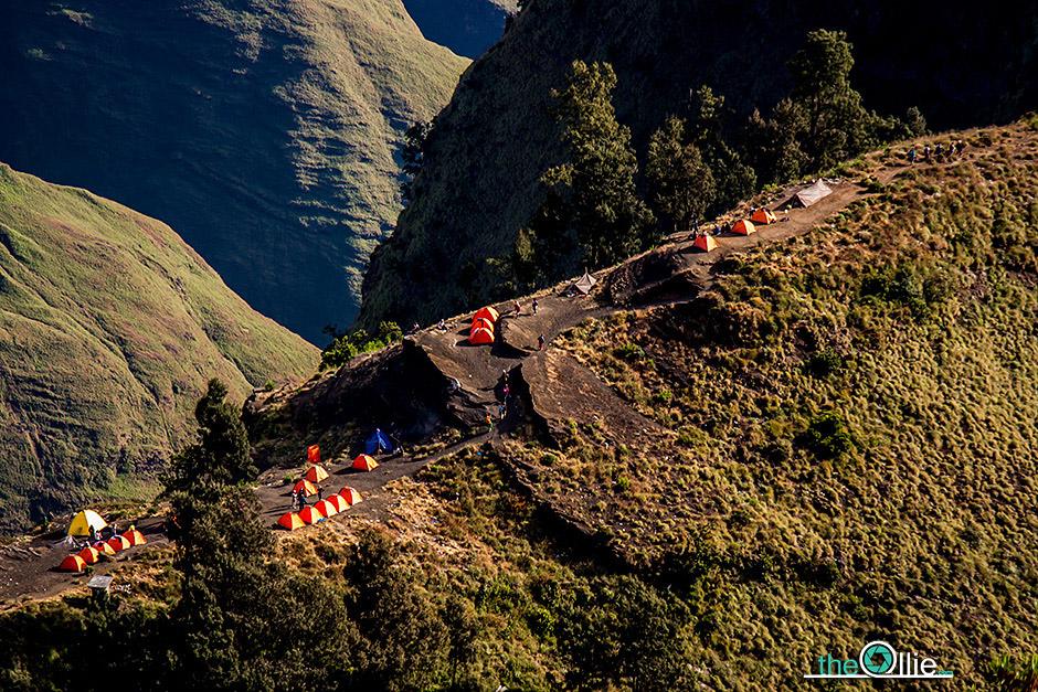 Trekking na Gunung Rinjani - foto
