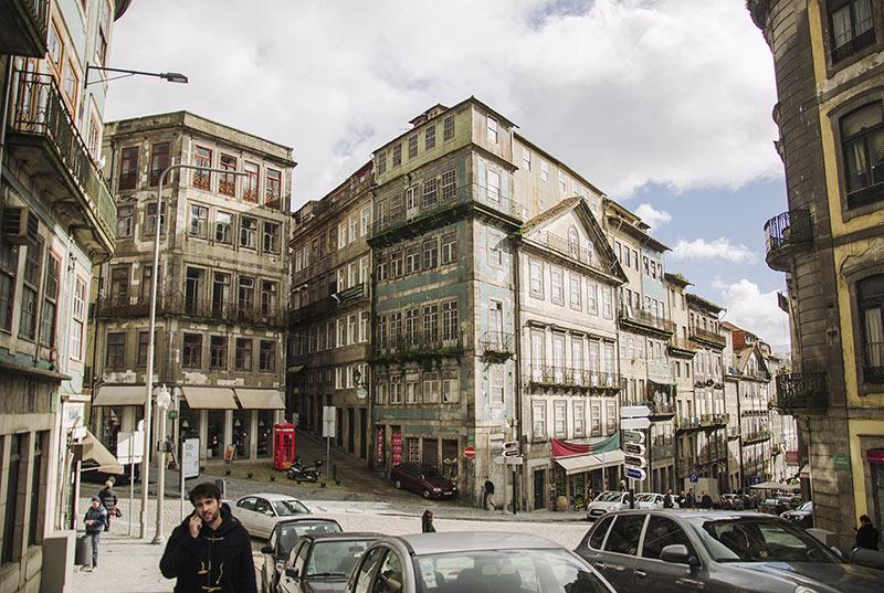 Centrum portugalskiego Porto