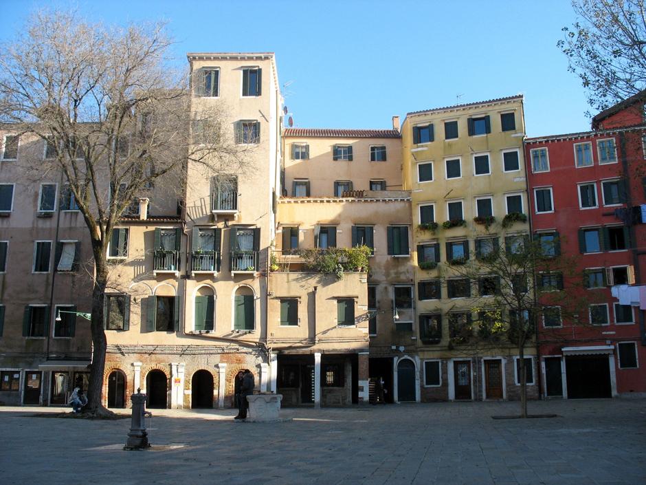 Stara zabudowa Wenecji