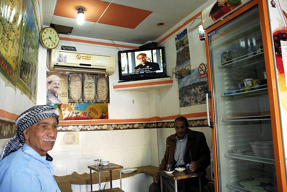 Śniadanie w kurdyjskiej restauracji - Irak