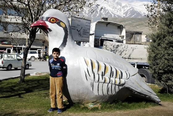 Pomnik ptaka kew w Iraku