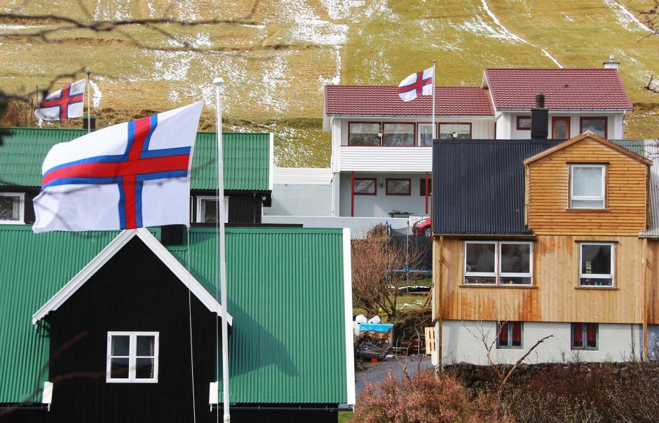 Flaga Wysp Owczych - zdjęcia