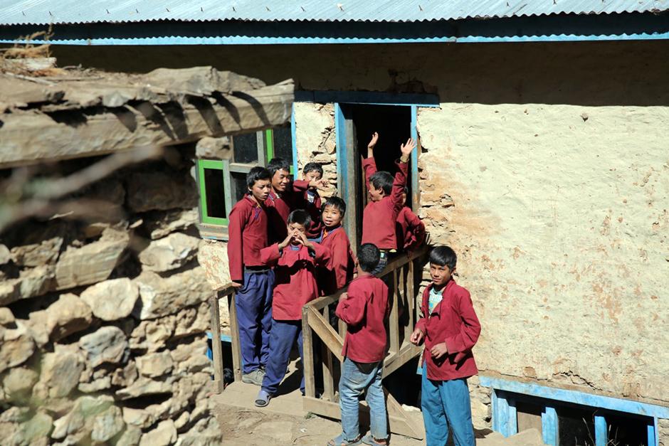 Szkoła w Nepalu - zdjęcia