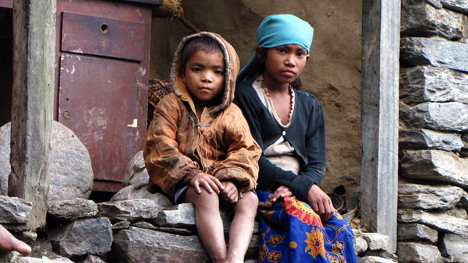 Bartek Malinowski w Nepalu fotografował dzieci
