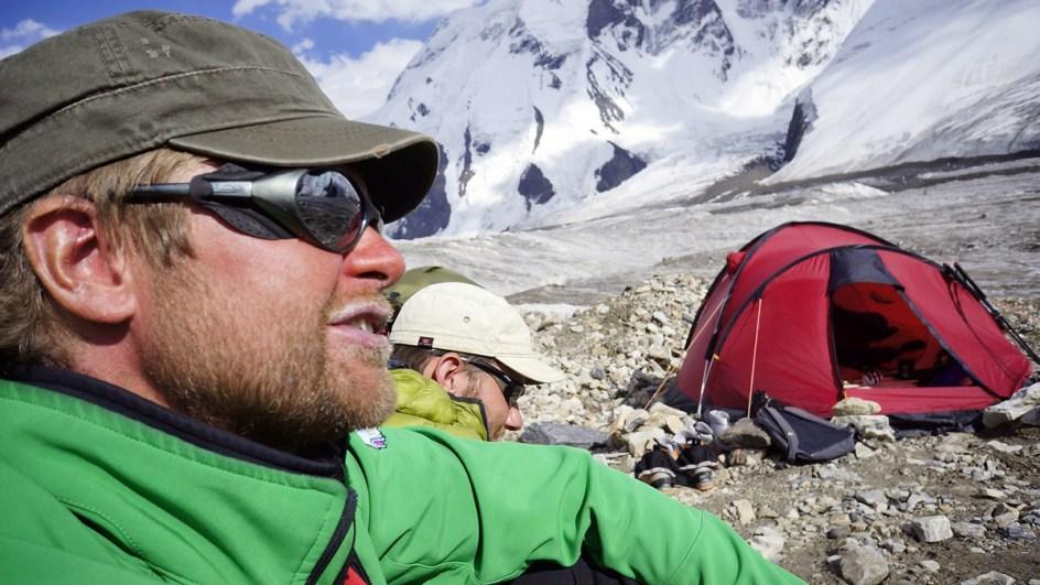 Bartosz Malinowski w górach Tien Szan