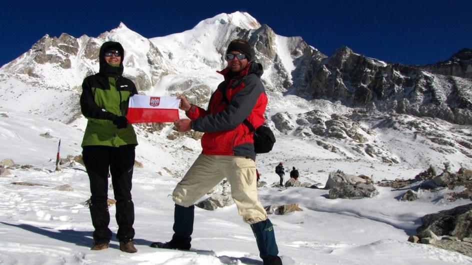 Bartosz Malinowski i Joanna Lipowczan w Nepalu