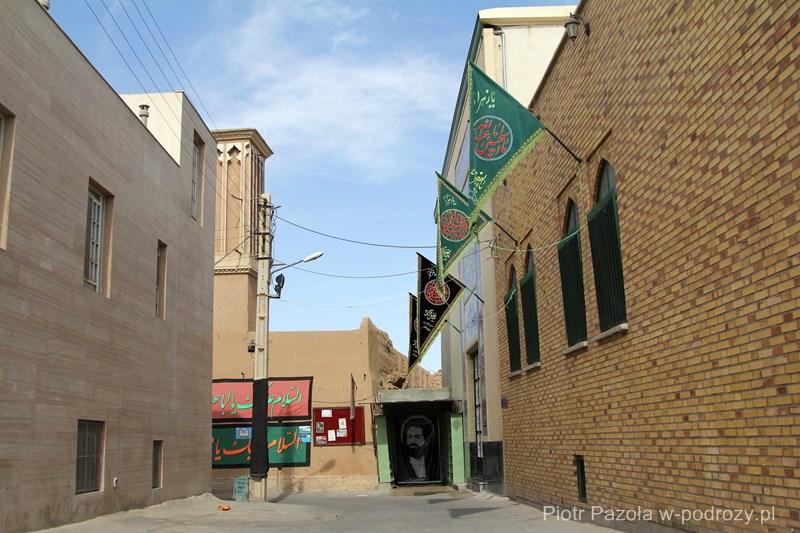 Flagi modlitewne w Jazd
