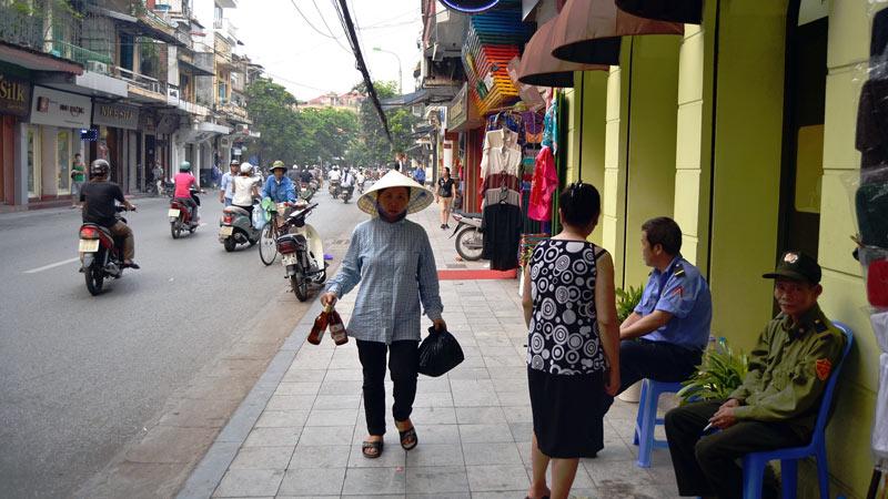 Ulica w Hanoi