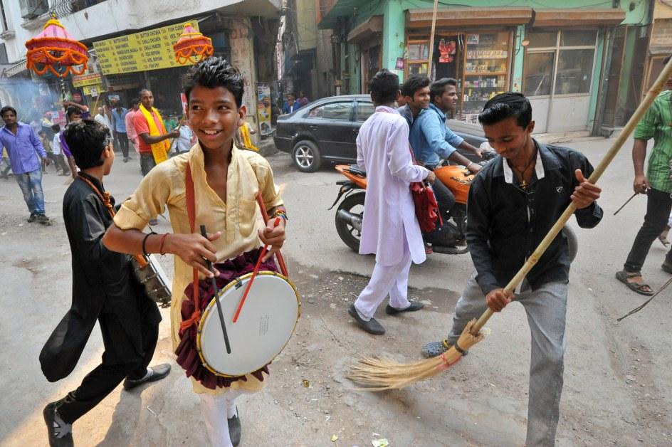 Indyjskie ulice, New Delhi