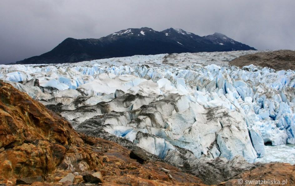 Argentyński lodowiec Viedma