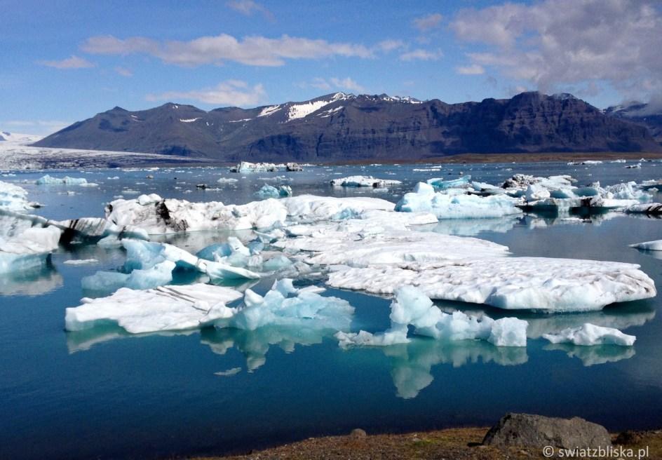 Zdjęcia lodowców na Islandii