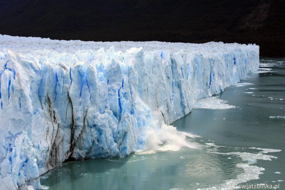 Perito Moreno - argentyński lodowiec, zdjęcia z podróży