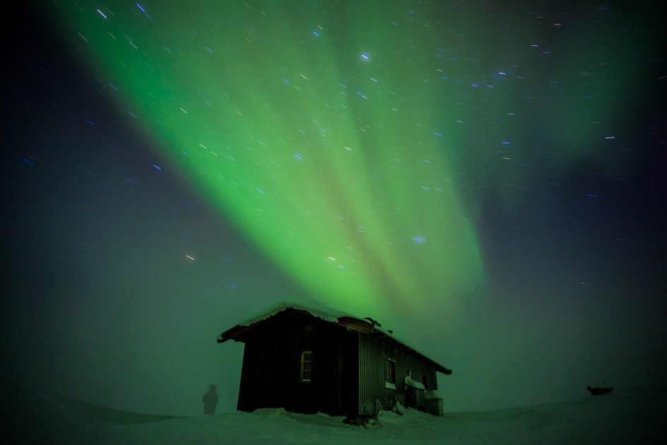 Finlandia, chatka dla turystów
