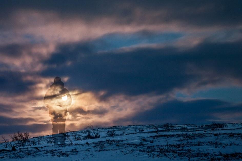 Na nartach przez Finlandię - foto