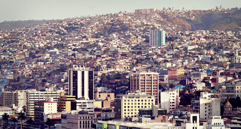 Panorama Valparaiso w Chile - zdjęcia z podróży
