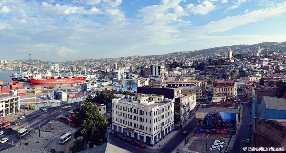Podróż przez Amerykę Południową - port w Valparaiso