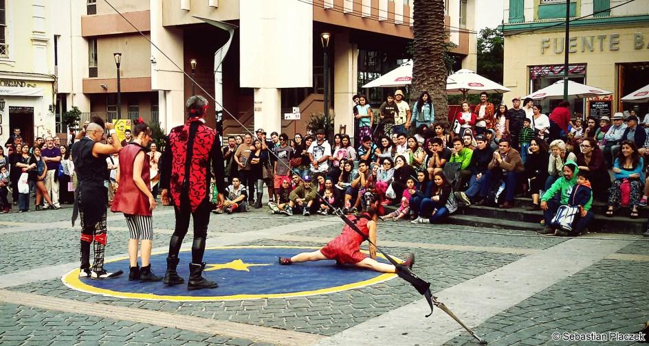 Ameryka Południowa, sztuka uliczna w Chile