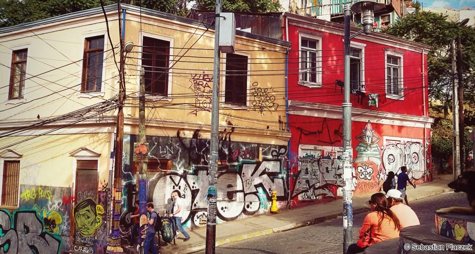 Zakamarki Valparaiso w Chile - foto