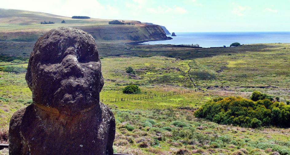 Podróż na Wyspe Wielkanocną, wycieczka na wulkan