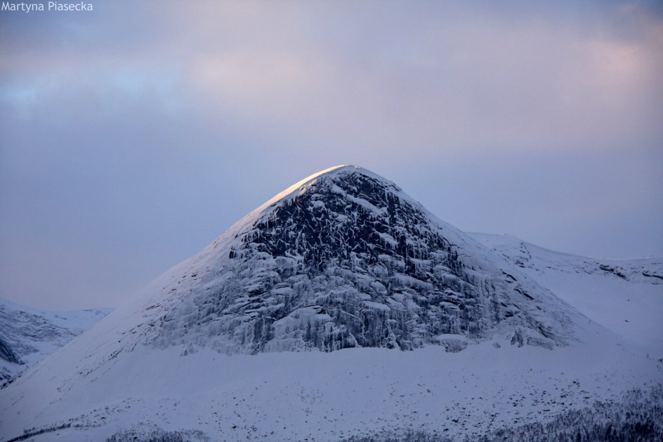 NORWEGIA, Mørsvikbotn - góry północnej Norwegii