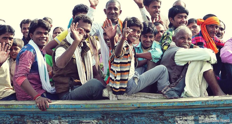 Indie, turyści w Waranasi - FOTO Sebastian Placzek