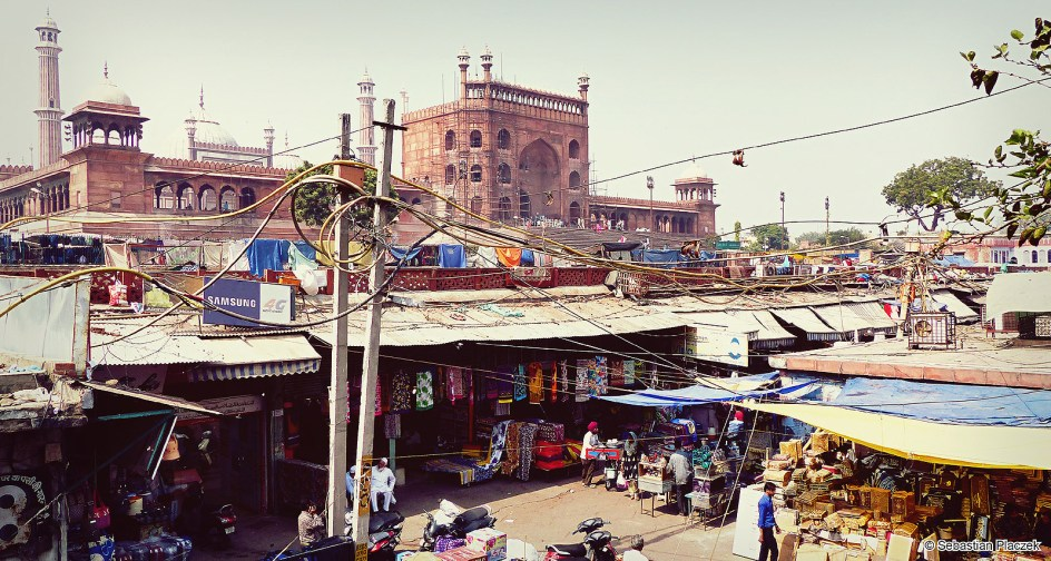 Indie, meczet piątkowy w Delhi - zdjęcia z podróży