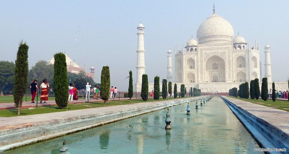 Indie, Agra, Taj Mahal. Zdjęcia z podroży - Sebastian Placzek