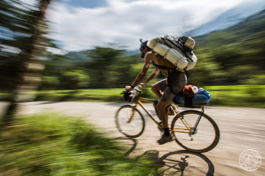 Steve Fassbinder rolling through the jungle