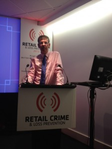Martin at BRC Retail Crime Conference