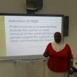 ENDING FEMALE GENITAL MUTILATION (FGM)