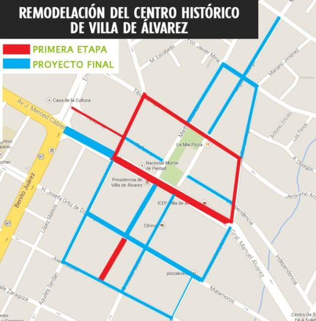 CENTRO HISTORICO PLAN VILLA DE ALVAREZ