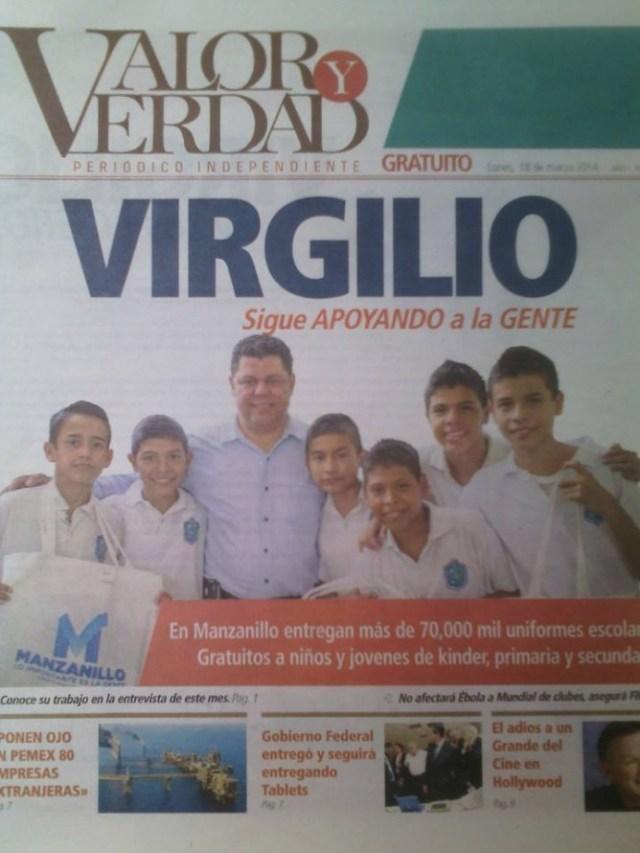 Virgilio Mendoza en Verdad