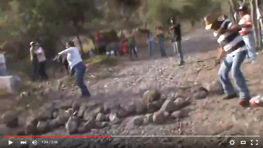 Video: Así fue la 'lluvia de piedras' en Zacualpan