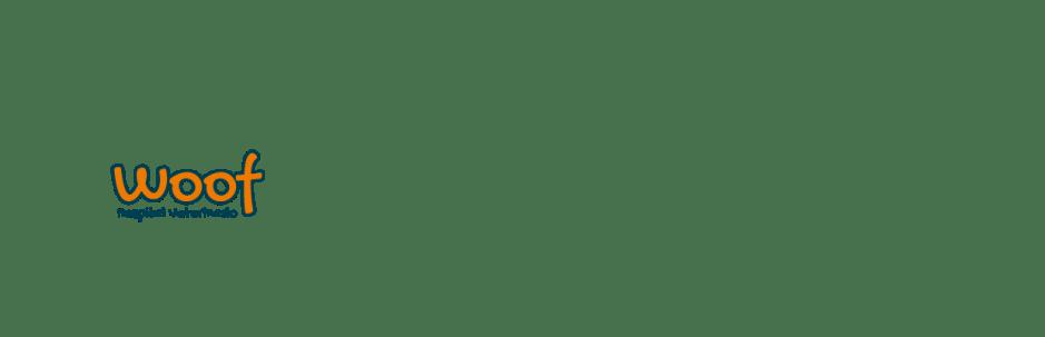 Logo Veterinaria Woof