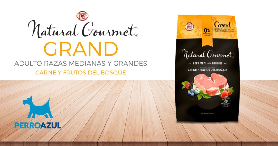 Natural Gourmet Grand Razas Medianas y Grandes