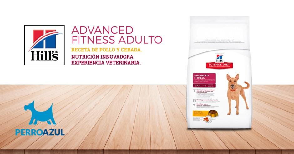 Croquetas para Perro Hill's Adulto Advanced Fitness Receta de Pollo y Cebada