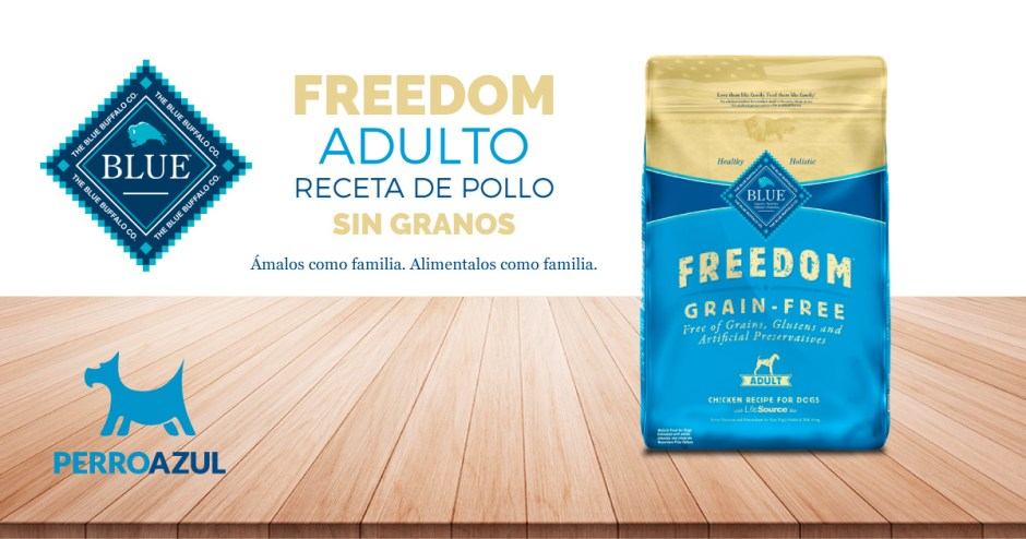 Blue Buffalo Freedom Adulto Receta de Pollo Sin Granos