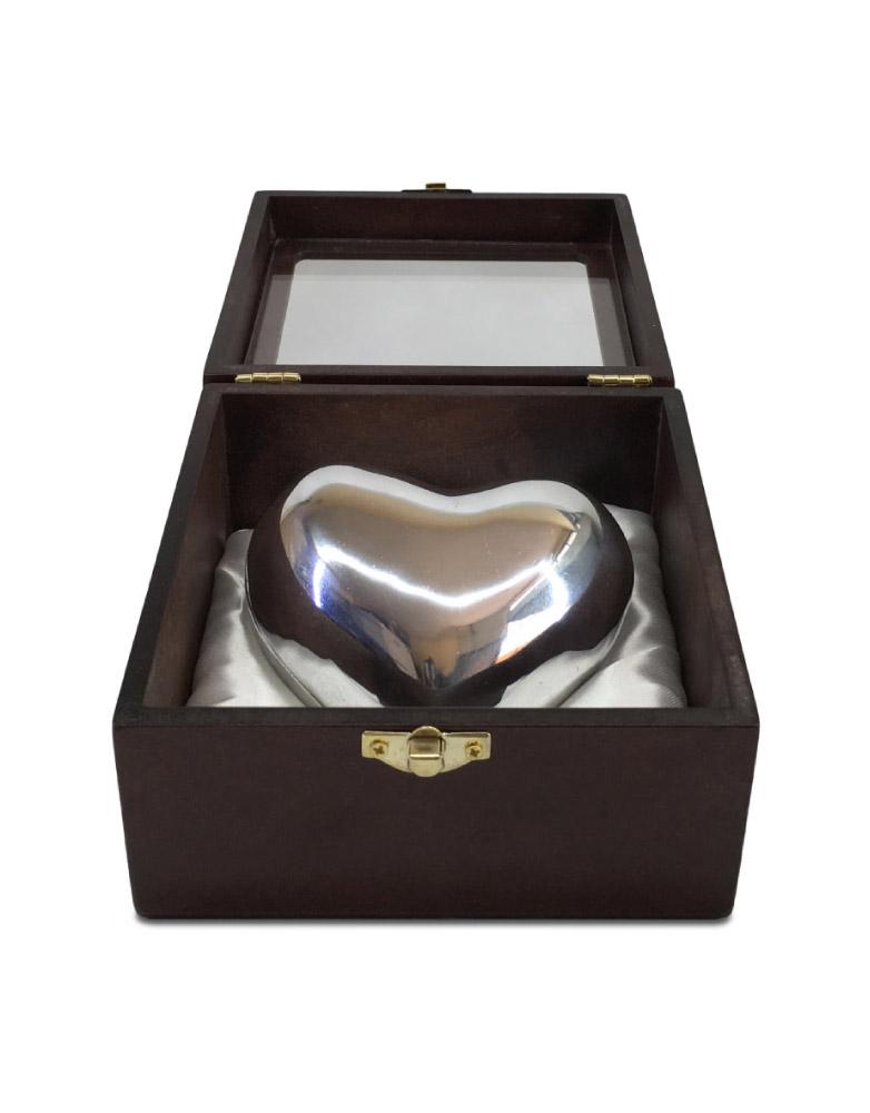 Urna para mascota modelo Relicario Pewter